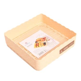 Claris Kotak Penyimpanan Medium - Travessa - Krem