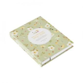 Desain Kreatif Alat Tulis Hardcover Buku Catatan Diary dengan Warna-warni Sticky Catatan + Pulpen