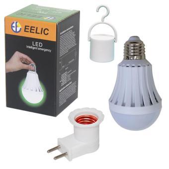 EELIC LFC E7WFIC Lampu LED Autolamps Bohlam Emergency 7 Watt Hook Fiting Colok .