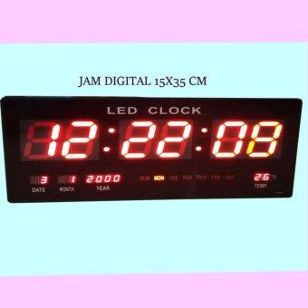 Kehebatan Jam Dinding Digital Ukuran Panjang 48 X 19 Cm Led 4819 Led ... 856760bea6