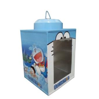 Kaleng Kerupuk Karakter Doraemon Ukuran 9 x 12 cm