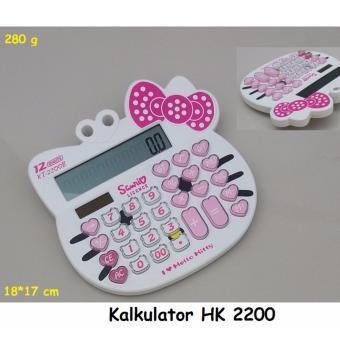 kalkulator karakter KT-2200 (putih)