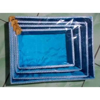 Kotak Hantaran Pernikahan Ukuran Besar Warna Warni 4 Pcs