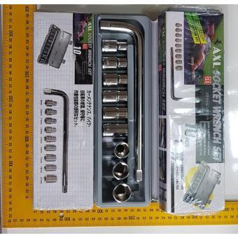 Kunci Sok 10 Pcs Kunci Sock Set 10 Pcs Socket Wrench Set 10 Pcs