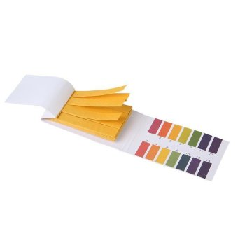 LALANG Universal PH 1-14 Test Strips Paper Products (Multicolor)