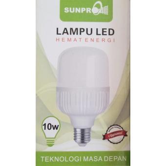 Lampu Led Hemat Energi 10 Watt Sunpro