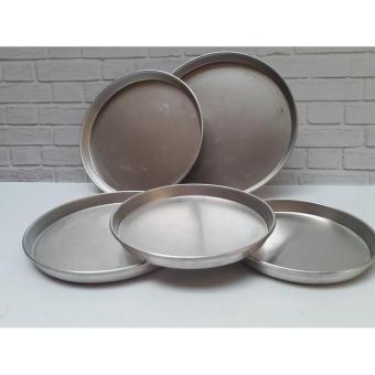 LOYANG ALUMINIUM PIZZA 14 CM / PIZZA PAN TEBAL / LOYANG PIZZA14