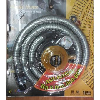 Beli Magic Home Kompor Gas Portable Butane Tabung Gas Kecil KG Source · Magic Home Regulator