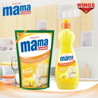 Paket Hemat Cuci Piring Sunlight Nature Botol 750ml & Refill 800ml Source · Paket Hemat Mama Lemon Pencuci Piring 750 mL 800mL