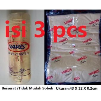 paket lap serat sintetis/kanebo yaris+botol isi 3 pcs/mawar88shop