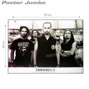 Poster Jumbo: Burgerkill Venomous #RJ73 - 49 x 69 cm