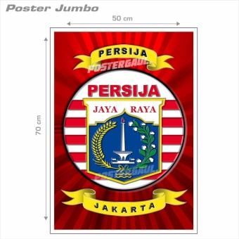 Poster Jumbo: LOGO PERSIJA #FCL047 - 50 x 70 cm