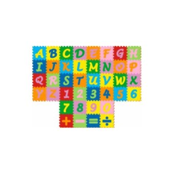 Puzzle Matras / Evamats / Evamat / Alphabet Angka Simbol - Tikar Anak