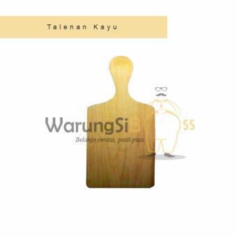 Universal Talenan Kayu Serbaguna Get 1 Free Talenan Duduk Source · Talenan Kayu 38 cm