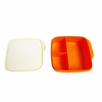 Jual Tupperware Click To Go Satuan Tempat Makan Orange Indonesia Source Tupperware Lolly .