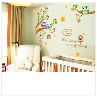 Wall Sticker XY1159 Welcome To My Home - Stiker dinding Untuk Dekorasi Kamar Anak Wall Sticker