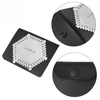 Welding Gauge Wet Film Comb 25-3000um Hexagonal Stainless Steel Elcometer - intl