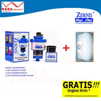 Zernii Filter Air Paket 1F1C1K Zernii Filter Carbon Kapas 50gr