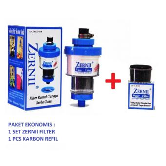 Zernii Universal Filter Water For All Free 1 Karbon Refill