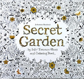 24 Pages Secret Garden English Version Decompression And Hand Painted Color Coloring Book The Magic