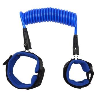 2.5Meters Baby Child Anti Lost Safety Hook Loop Fastener Wrist Link Rope Band Leash Belt