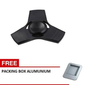 ANGEL Fidget Spinner Hand Spinner Fidget Metal Triangle Aluminium Toy Mainan Stress Fidget Ufo Anak ADHD