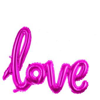 Balon Foil Tulisan Love Mini
