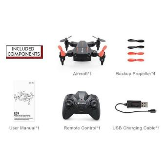 Drone Lipat Mini Eachine E59 RC Quadcopter