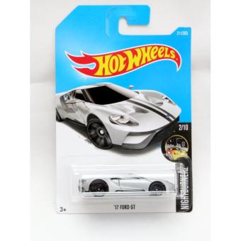 Hot Wheels  Ford Gt Silver