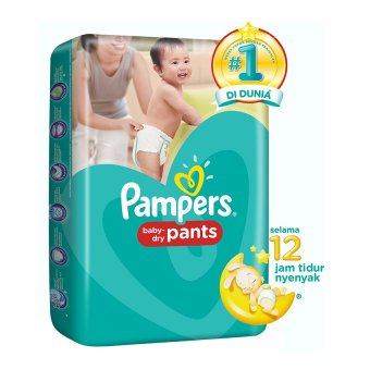 Pampers Popok Baby Dry M-58