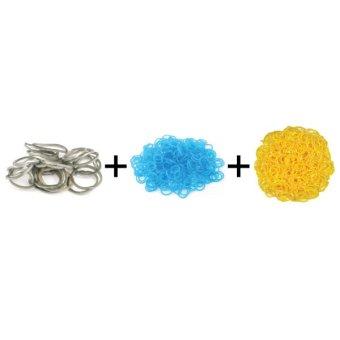 Jual A1 Toys Paket Karet Refill Loom Bands Metalik Abu + Bubble Biru + Polkadot Kuning Rainbow Loom Harga Termurah Rp 49000.00. Beli Sekarang dan Dapatkan Diskonnya.