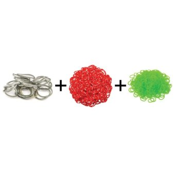 Jual A1 Toys Paket Karet Refill Loom Bands Metalik Abu + Polkadot Merah + Bubble Hijau Rainbow Loom Harga Termurah Rp 49000.00. Beli Sekarang dan Dapatkan Diskonnya.