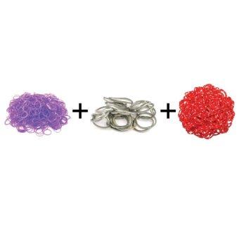 Jual A1 Toys Paket Karet Refill Loom Bands Jelly Violet + Metalik Abu + Polkadot Merah Rainbow Loom Harga Termurah Rp 49000.00. Beli Sekarang dan Dapatkan Diskonnya.