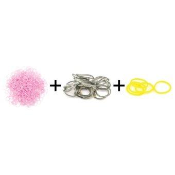 Jual A1 Toys Paket Karet Refill Loom Bands Pastel Pink + Metalik Abu + Glow In The Dark Kuning Rainbow Loom Harga Termurah Rp 49000.00. Beli Sekarang dan Dapatkan Diskonnya.