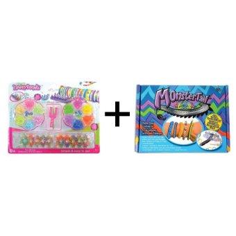 Jual A1 Toys Paket Loom Bands Monstertail Box Biru + Rainbow Loom Kit Komplit 14 Warna Harga Termurah Rp 79000.00. Beli Sekarang dan Dapatkan Diskonnya.