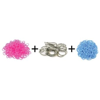 Jual A1 Toys Paket Karet Refill Loom Bands Bubble Pink + Metalik Abu + Polkadot Biru Rainbow Loom Harga Termurah Rp 49000.00. Beli Sekarang dan Dapatkan Diskonnya.