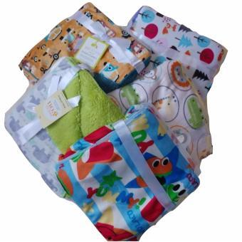 Jelova Angela 1pcs Selimut Blanket Baby Bayi Premium Quality SNI Standart - 1pcs BOY Random