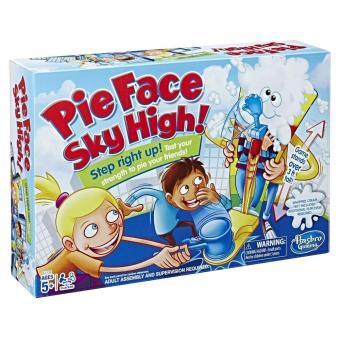 Mainan Prank Toy Pie Face Sky High Game Running Man Games Cream