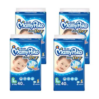 Lifree Popok Celana Tipis & Nyaman Bergerak Xl 3 Updated Price List Source · Mamypoko Popok Tape Extra Dry L 40 Karton Isi 4