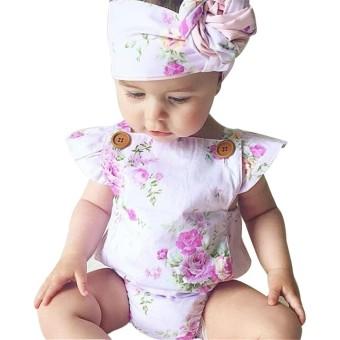 Bayi Girls Renda Decor Baju Monyet Sleeveless Fashion Indah Sablon Jumpsuit-Intl. Source ·. Source · PAlight Rose bunga bayi gadis baju monyet Dress ...