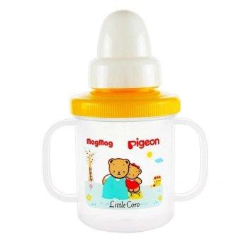 Pigeon MagMag All in One Set Training Cup BPA Free - Putih