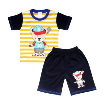 ... Setelan Baju Tangan Panjang Anak Bayi Laki Laki dan Harga. Source · SKABe Baby W/Tua Tangan Pendek Stelan Kaos 2222 - Navy