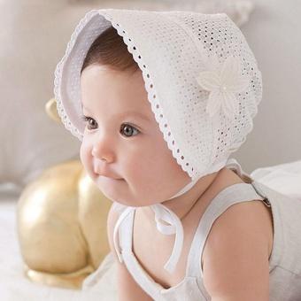 Solid Warna Hollow Braid Topi Bayi Bayi Anak-anak Topi Renda Topi-Intl Amart 2e6d7d995a