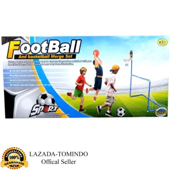 Tomindo Toys Football and Basketball set / Gawang dan Basket - LT10A2