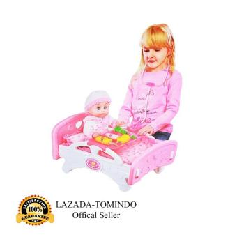 Tomindo Toys My Family Doctor + Boneka + Kasur Boneka   mainan anak    mainan dokter b94baf0b63