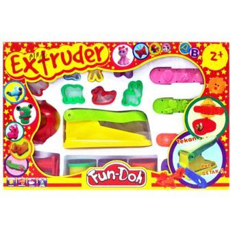 TSH Mainan Edukasi Lilin Fun Doh Extruder Cetakan + Lilin - Multi Colour
