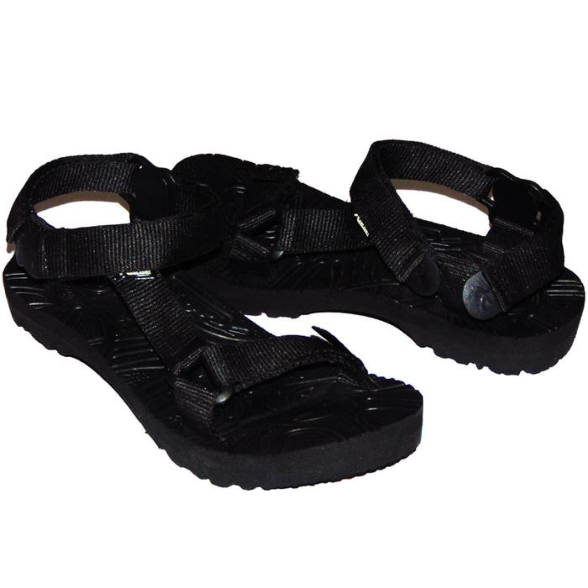 sandal gunung pria selop erger hitam