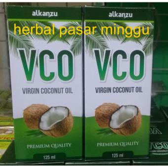 2 Botol VCO - Virgin Coconut Oil (1 botol isi 125 ml)