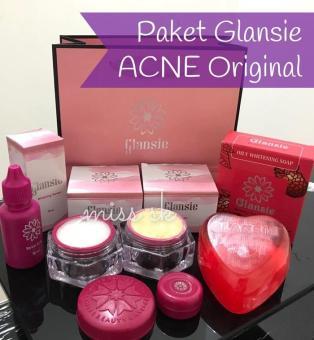 Cream Pemutih Wajah A-Dha. Source · [ACNE] GLANSIE Paket ACNE Cream