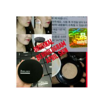 APRIL SKIN ORIGINAL BERHOLOGRAM ASLI MAGIC SNOW CUSHION BLACK LIHAT HOLOGRAM ASLI